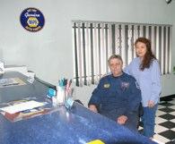 Neil & Elizabeth in Office