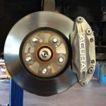 Disc Brake Rotor and Caliper