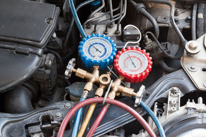 Air Conditioning Diagnosis Gauges